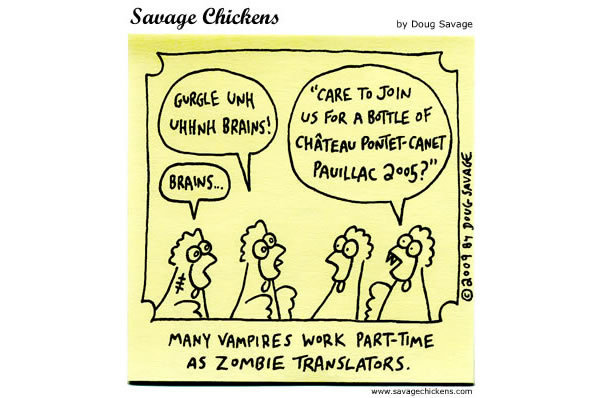 Zombie: Brains....