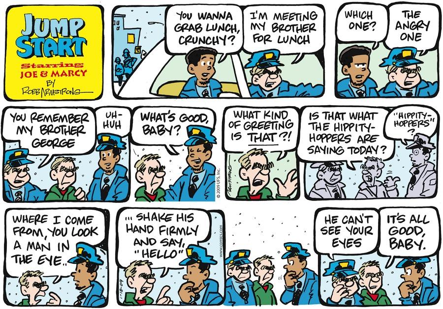 JumpStart for Jan 18, 2009 Comic Strip