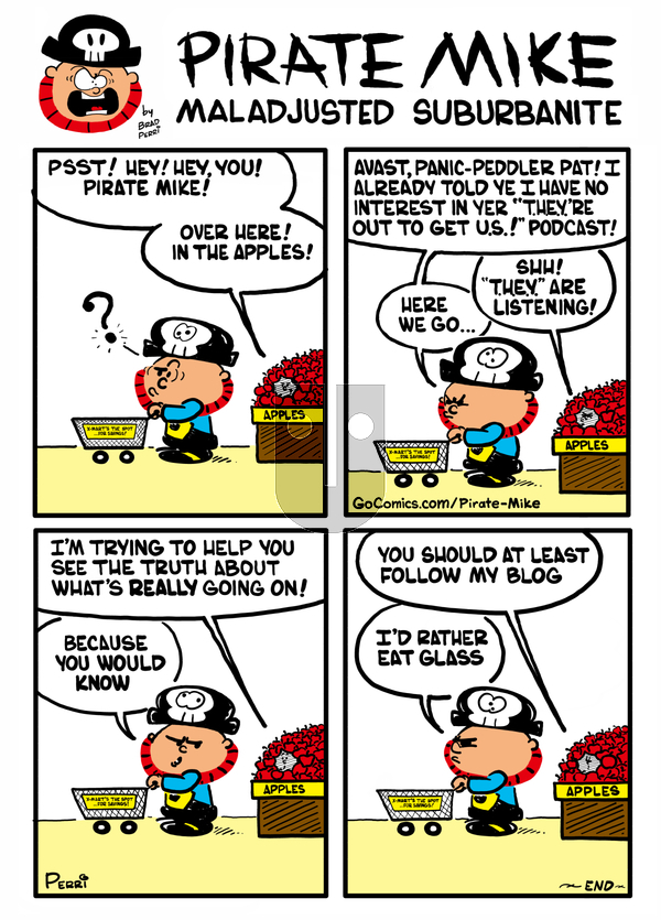 Pirate Mike - Friday November 15, 2019 Comic Strip