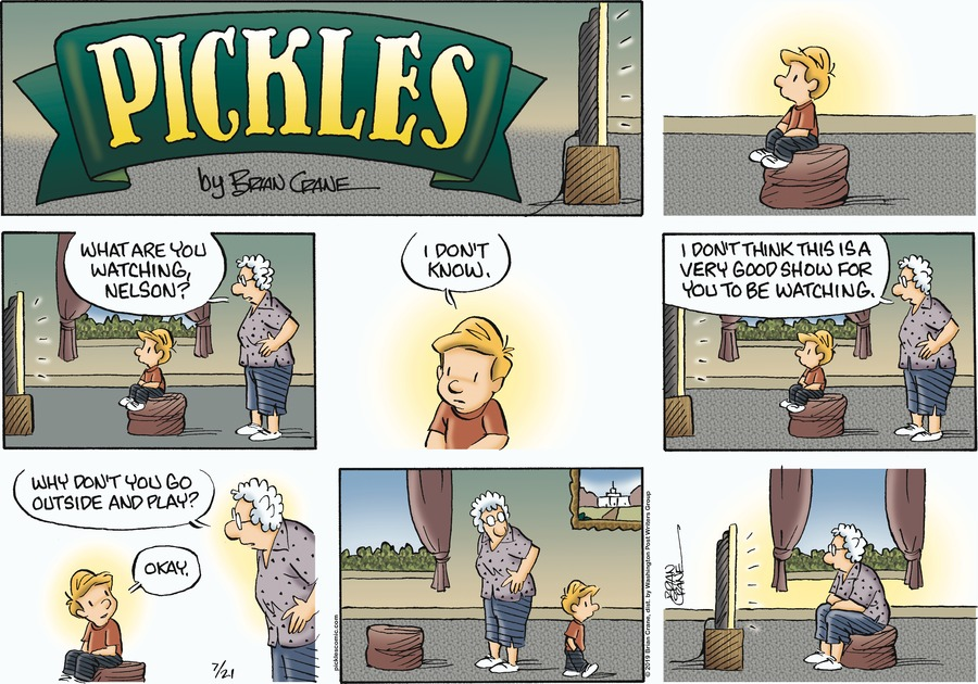 Pickles Comic Strip for July 21, 2019