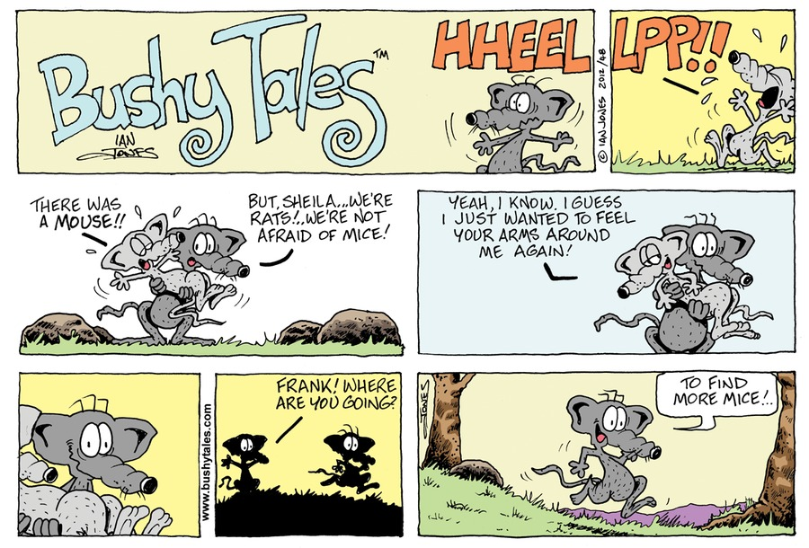 Bushy Tales for Apr 15, 2018 Comic Strip