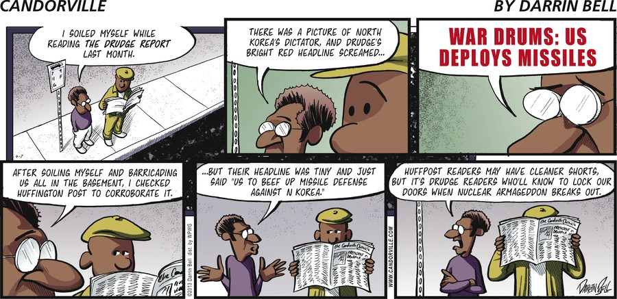 Candorville for Apr 7, 2013 Comic Strip