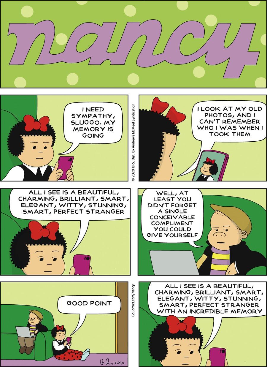 Nancy Comic Strip for May 24, 2020