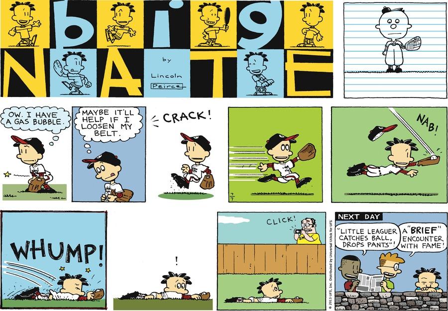 Big Nate for Jul 7, 2013 Comic Strip