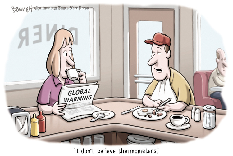 Clay Bennett for May 14, 2014 Comic Strip