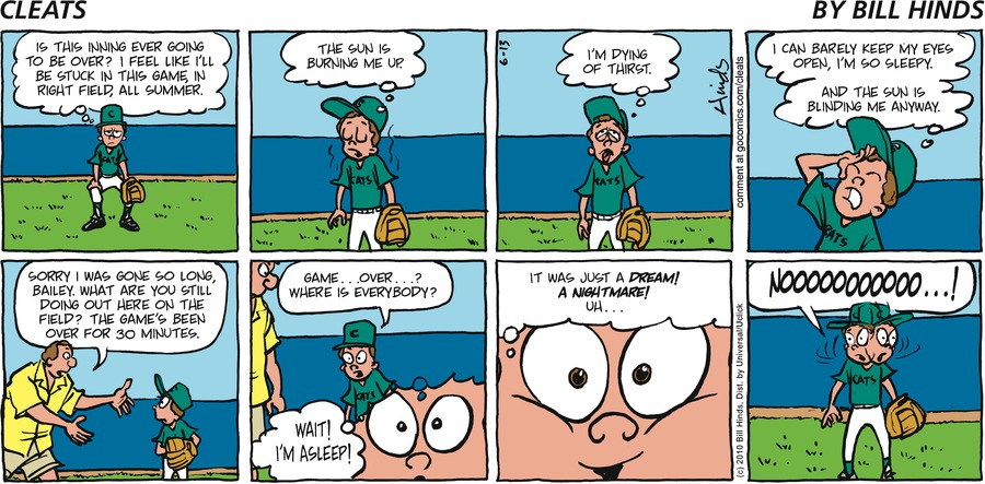 Cleats Comic Strip for June 16, 2019