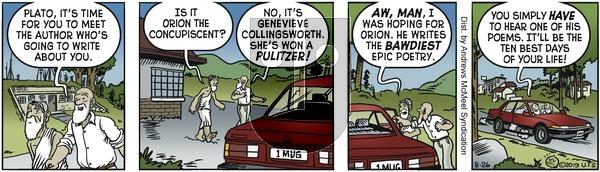 Alley Oop - Monday August 26, 2019 Comic Strip
