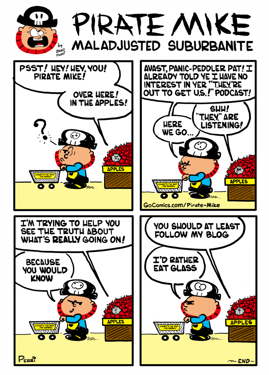 Pirate Mike Comic Strip for November 15, 2019