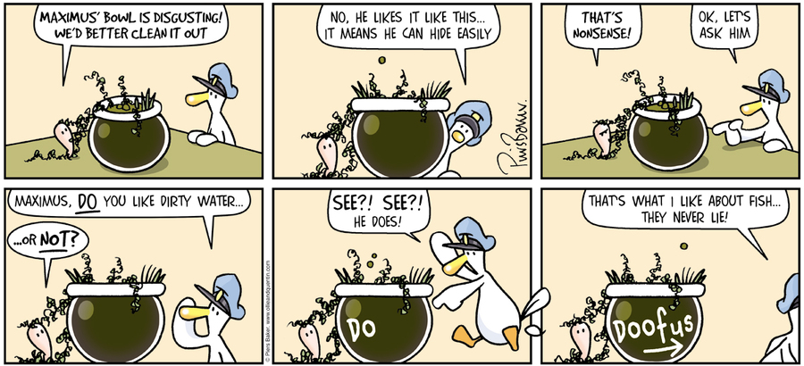 Ollie and Quentin Comic Strip for April 22, 2018