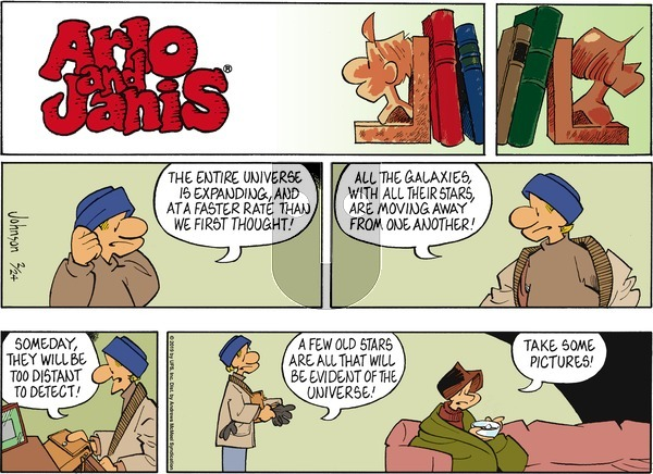 Arlo and Janis on Sunday February 24, 2019 Comic Strip