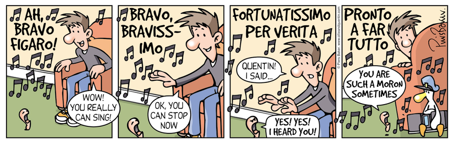 Ollie and Quentin Comic Strip for June 11, 2016