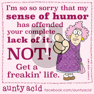 Aunty Acid on Thursday October 24, 2019 Comic Strip