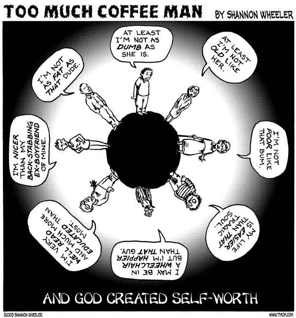 Too Much Coffee Man for Jan 19, 2013 Comic Strip