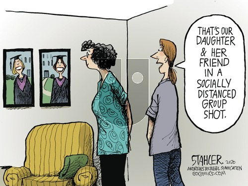 Jeff Stahler on Sunday May 17, 2020 Comic Strip