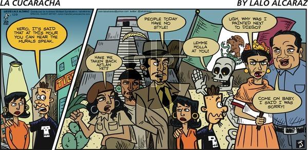 La Cucaracha on Sunday December 9, 2018 Comic Strip