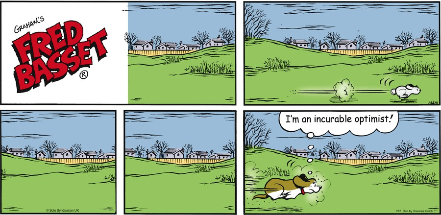 Fred Basset Comic Strip for January 12, 2014