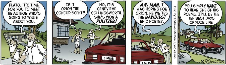 Alley Oop Comic Strip for August 26, 2019