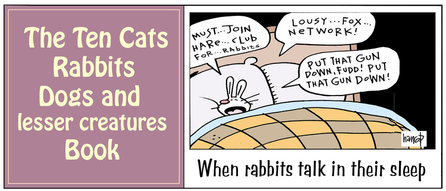 Ten Cats by Graham Harrop for May 20, 2019