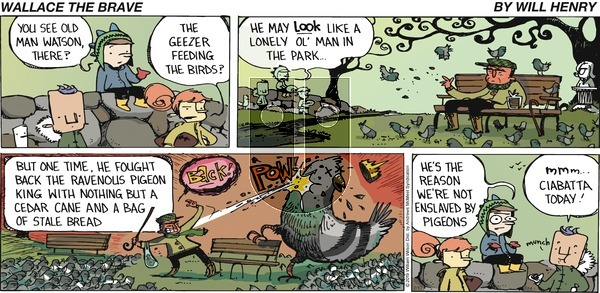 Wallace the Brave on Sunday February 17, 2019 Comic Strip