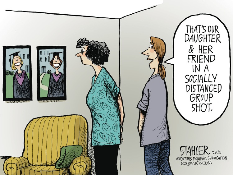 Jeff Stahler Comic Strip for May 17, 2020