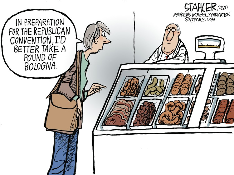 Jeff Stahler by Jeff Stahler on Sun, 23 Aug 2020