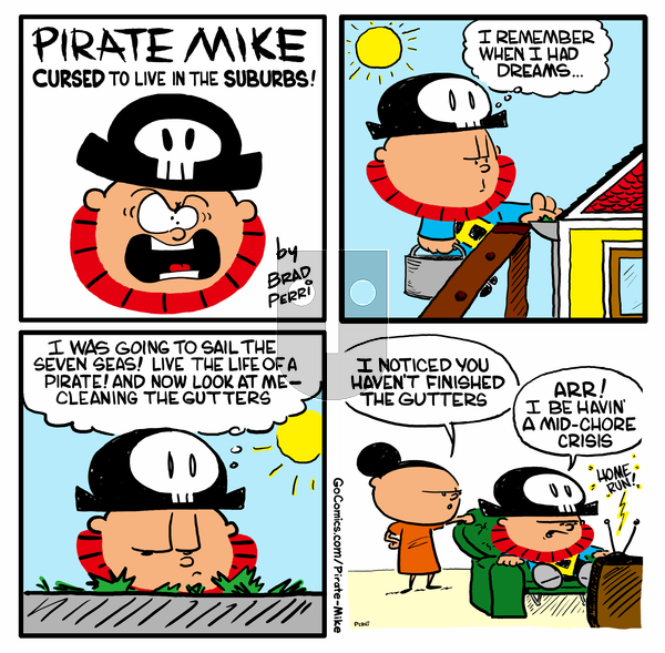 Pirate Mike on Monday May 18, 2020 Comic Strip