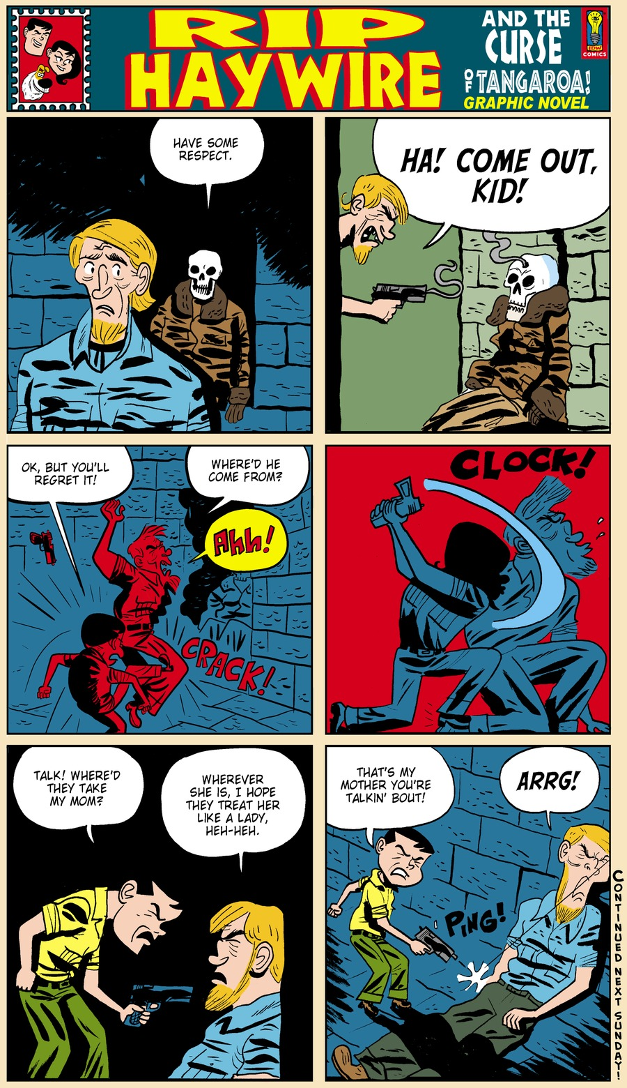 Rip Haywire Comic Strip for August 11, 2013