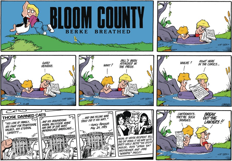 Bloom County Comic Strip for July 29, 2021