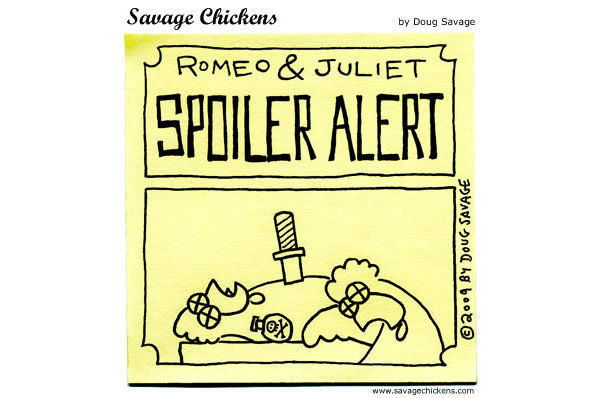 Romeo & Juliet: Spoiler alert!