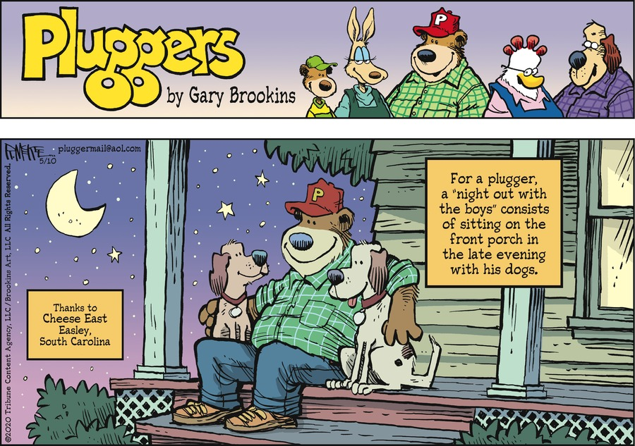 Pluggers Comic Strip for May 10, 2020