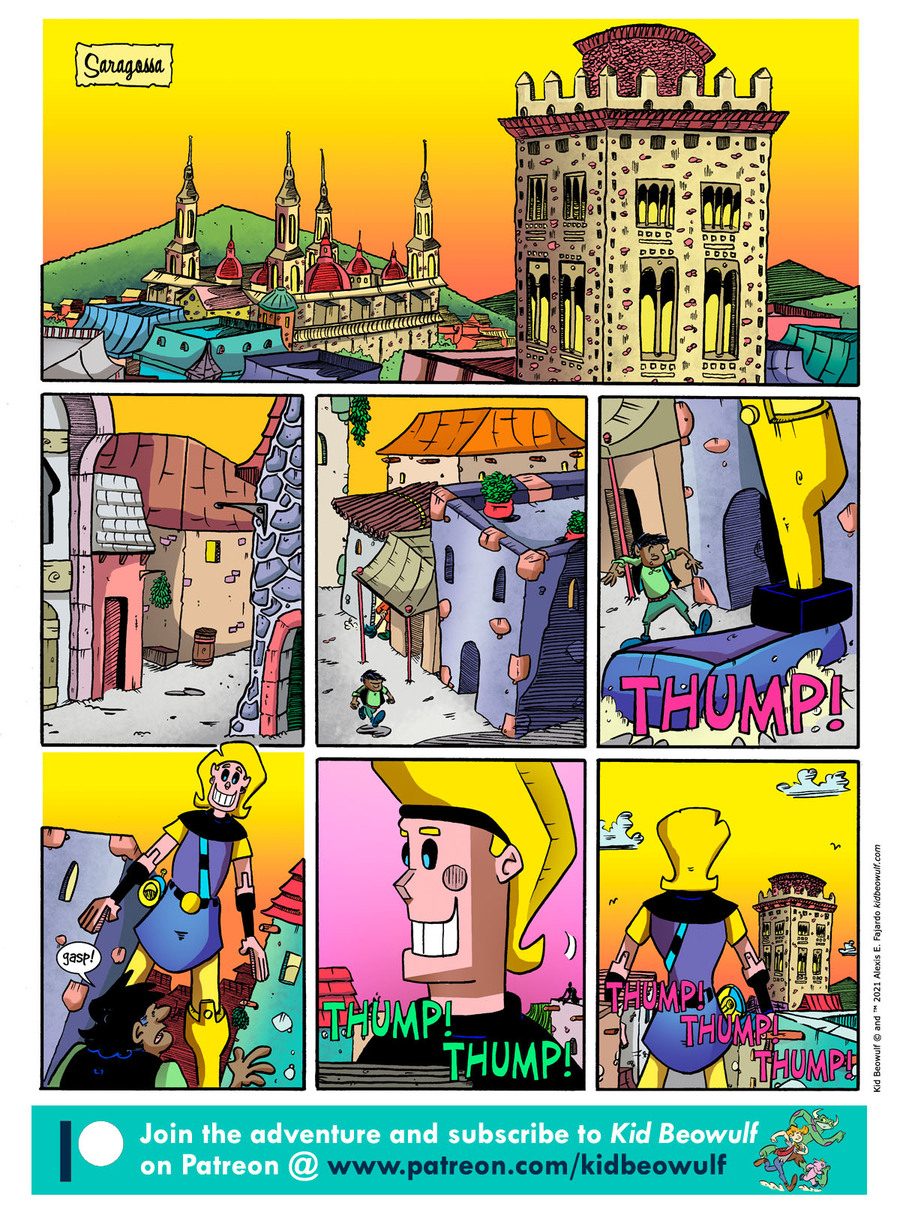Kid Beowulf Comic Strip for May 31, 2021
