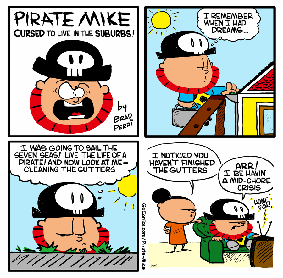 Pirate Mike by Brad Perri on Mon, 18 May 2020