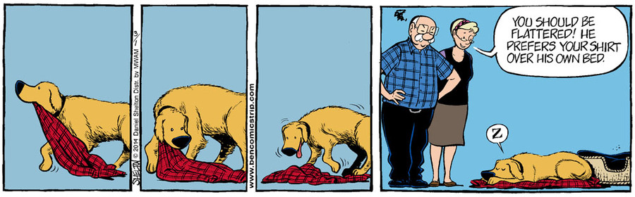 Ben Comic Strip for March 08, 2014