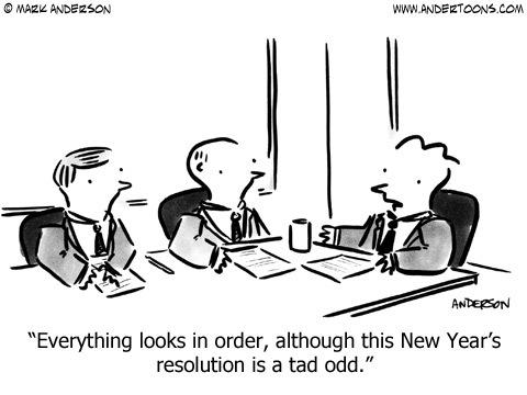Andertoons Comic Strip for December 31, 2013