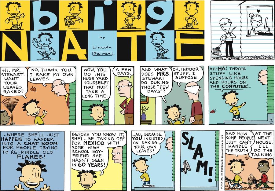 Big Nate Comic Strip for November 02, 2014