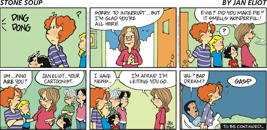 Stone Soup Comic Strip for June 14, 2020