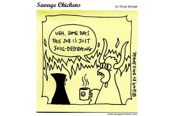 Savage Chickens for Feb 4, 2013 Comic Strip