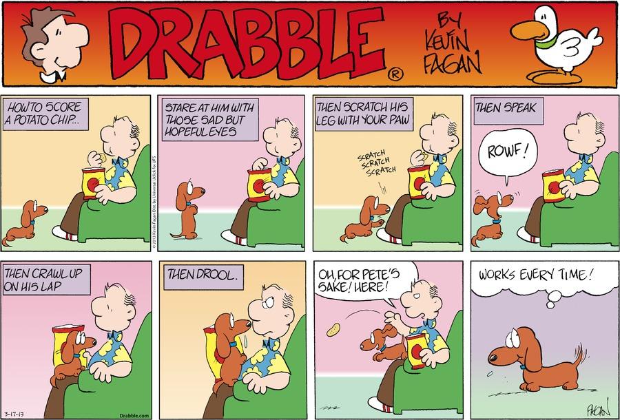 Drabble for Mar 17, 2013 Comic Strip