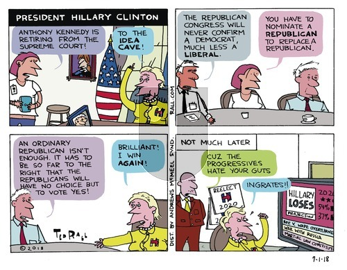 Ted Rall on Sunday July 1, 2018 Comic Strip
