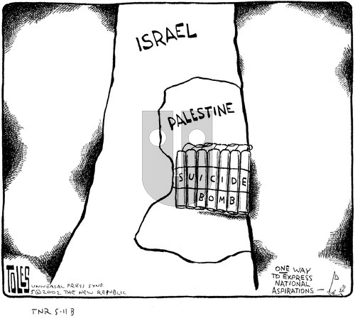 Tom Toles on Sunday May 12, 2002 Comic Strip