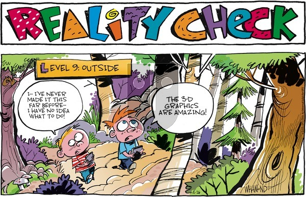 Reality Check on Sunday April 26, 2015 Comic Strip