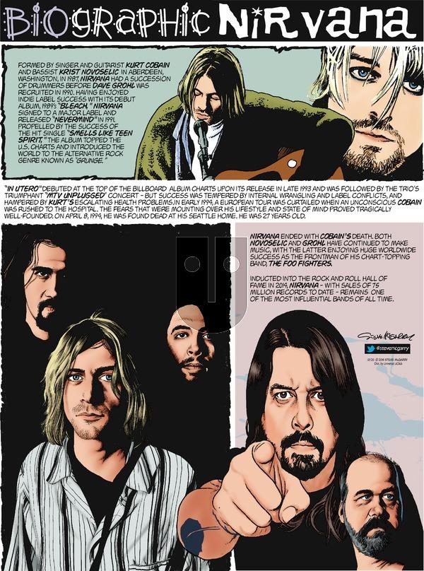Biographic on Sunday December 20, 2015 Comic Strip