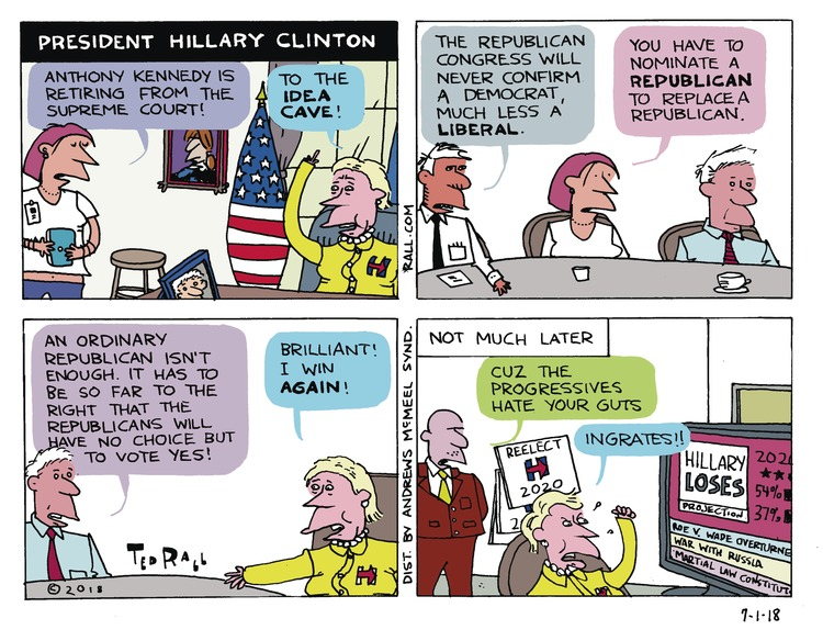 Ted Rall Comic Strip for July 01, 2018