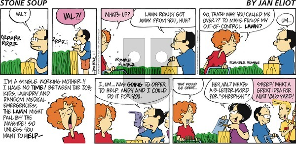 Stone Soup on Sunday July 1, 2012 Comic Strip