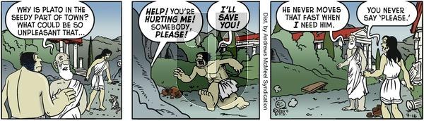 Alley Oop - Tuesday July 16, 2019 Comic Strip