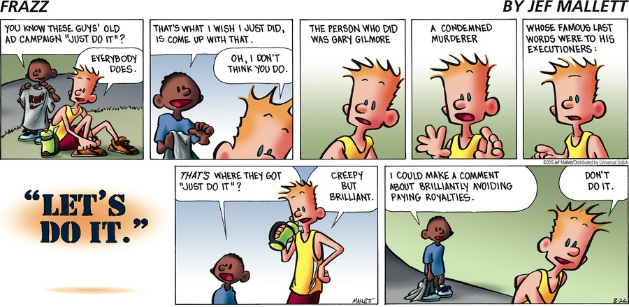 Frazz Comic Strip for August 26, 2012