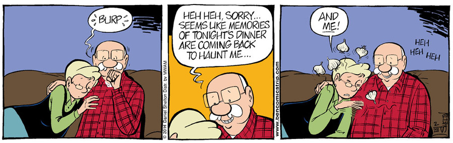 Ben Comic Strip for March 07, 2014
