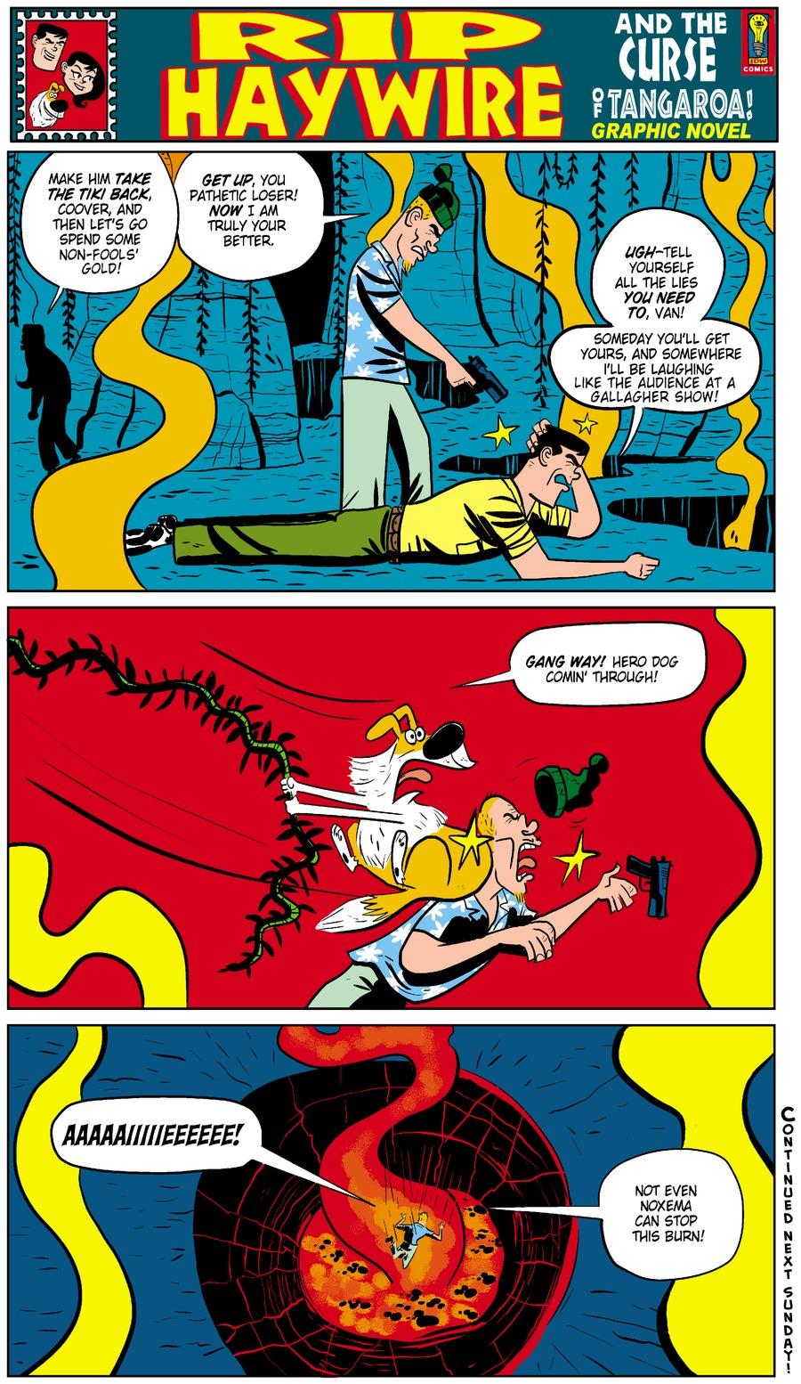 Rip Haywire Comic Strip for January 25, 2015