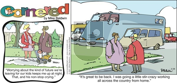 Cornered on Sunday March 28, 2021 Comic Strip