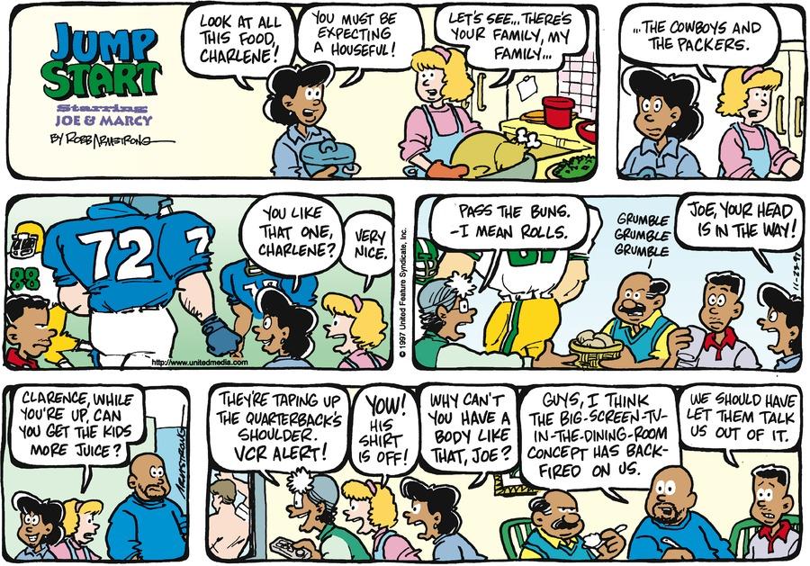 JumpStart for Nov 23, 1997 Comic Strip